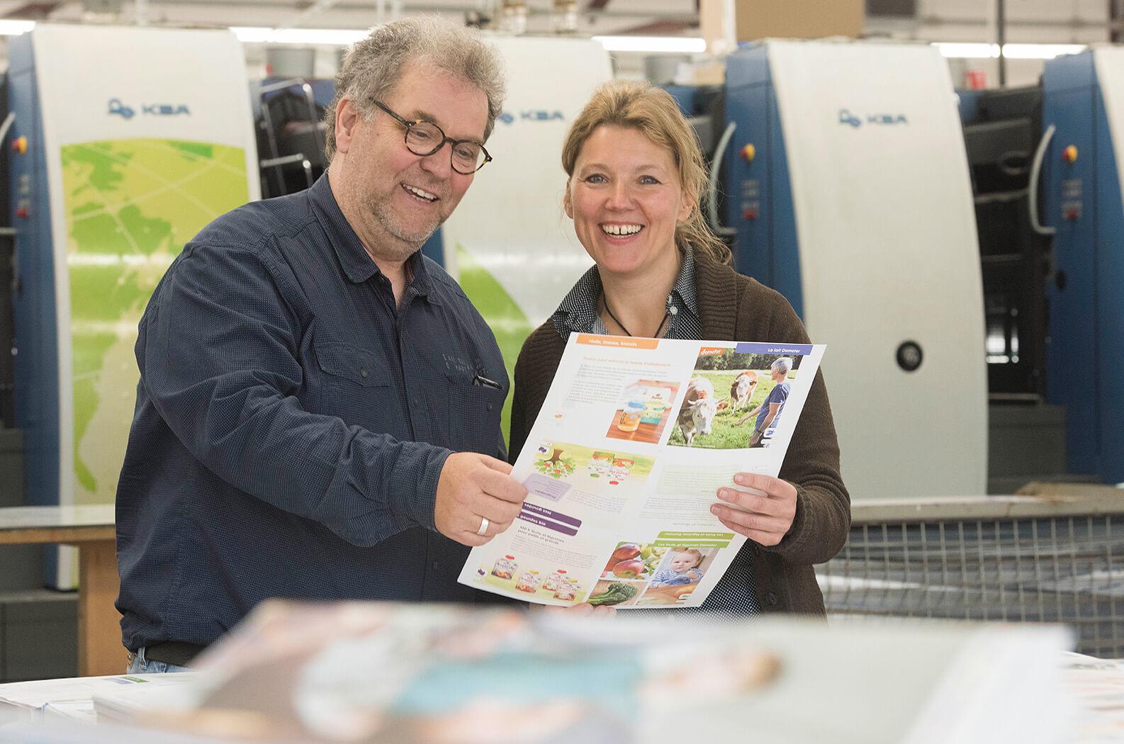 nachhaltige Druckerei